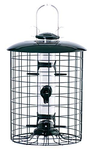 Woodlink WLC6S Caged 6-Port Seed Tube Feeder