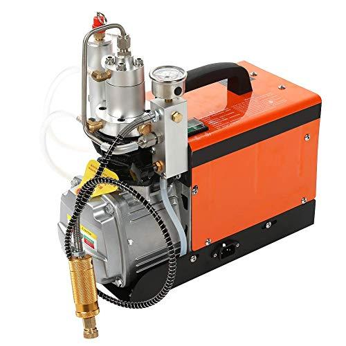 YIONGA CAIJINJIN Bomba de Agua Bomba de Aire Conjunto eléctrico, 30MPA Compresor de Alta presión Bajo Ruido de Trabajo con Filtro de Agua 220V Reino Unido Enchufe