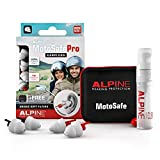 Alpine MotoSafe Pro Ear Plugs - Racing & Touring Plugs - Prevents Hearing
