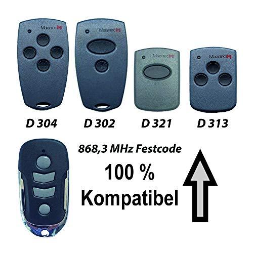 Ersatz Handsender für Marantec Digital 302 304 313 321 382 384 868,3 MHz Festcode
