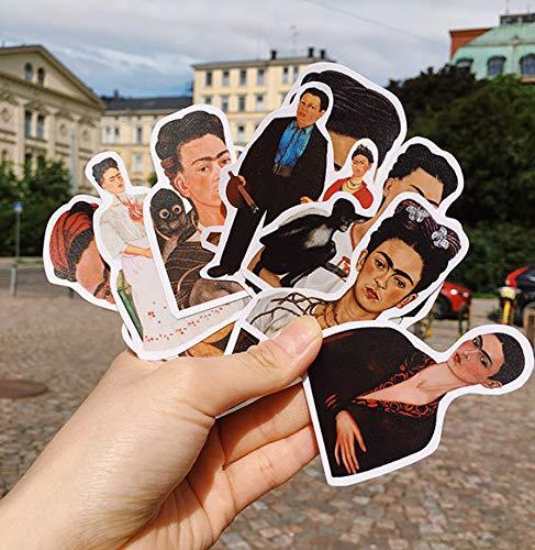 Artistiek Schilderij Koffer Sticker Koelkast Gitaar Notebook Waterdichte Sticker Kinderen Sticker 10 stks