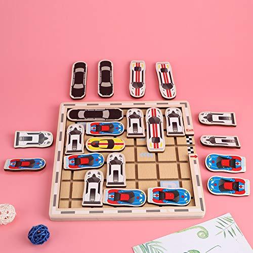 Asixxsix Juguete Educativo, Juguete de Laberinto de interacción Mejorada, inofensivo para niños niñas(YR- Moving Car Games)