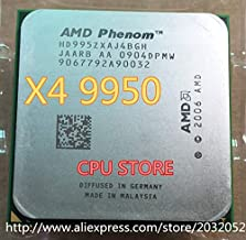 Cailiaoxindong Phenom X4 9950 CPU Processor Quad-CORE 2.6Ghz/ 2M /125W / 2000GHz Socket am2+