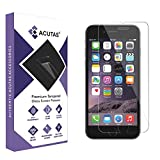 ACUTAS® Tempered Glass for iPhone 6; iPhone 6S; iPhone 7; iPhone 8 (Transparent) Full Screen Coverage (Except Edges)