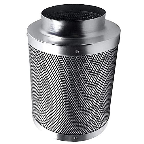 XPfj Aire Acondicionado Portatil Filtro de Carbono de Control de Olor de Aire de 4/6 / 8 Pulgadas para Ventilador en línea Filtro de Carbono precalente, 4 Pulgadas (Size : 8 Inches)