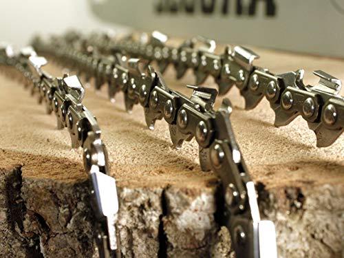 3 x Sägekette passend McCulloch CS 390 CS390 PLUS - 40 cm 3/8\' 56 TG 1,3 mm
