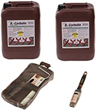 2x Burtex Holzlasur B-Carbolin Planzenöl Holzschutz Holz Lasur Schutzanstrich