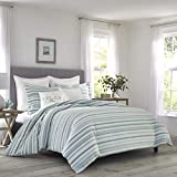 Tommy Bahama Clearwater Cay Comforter Set, Queen, Blue