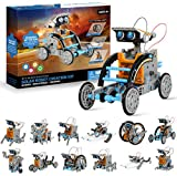 OASO STEM Robot Building Kits for Kids, Solar Robot Kits for Boys Girls 8 9 10 and up, Science Experiment DIY Educational Creative Robot Toy Sets(190 Pieces)