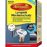 Aeroxon - Anti Mücken-Stecker - Perfekt geeignet zur Abwehr von Stechmücken/Gelsen, Tigermücken, Fliegen und Motten - Nachfüllflaschen erhältlich (1 Mückenstecker)