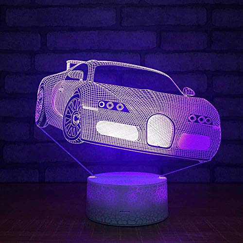 3D illusion nachtlampje Bluetooth Smart Control 7 & 16 m kleur mobiele app LED Vision bier mok, bar, winkel thuis, decoratief, kleurrijk