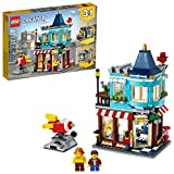 LEGO Creator 3in1 Townhouse Toy Store 31105, Cool Creative Toy House Buildable Kit for Kids, New 2020 (554 Pieces)