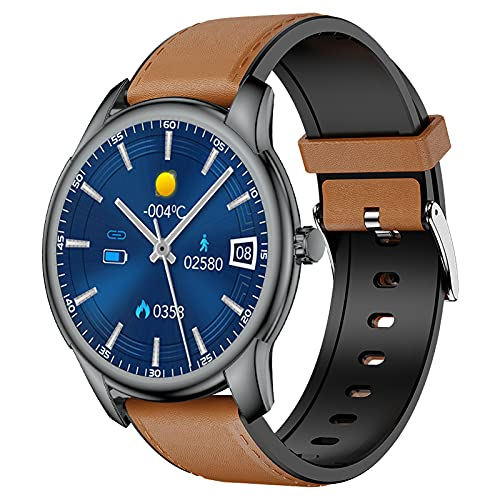 NiceFuse Smart Watch, Fitness Tracker Activity Tracker with Heart Rate Blood Pressure Sleep Monitor Pedometer Timer, IP68 Waterproof Smartwatch Compatible with iPhone Samsung Android Phone