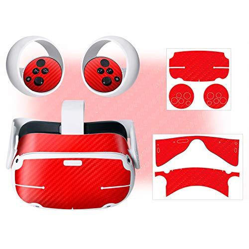 Tabpole PVC-Aufkleber, fingerabdruckfest, kompatibel mit Oculus Quest 2 VR Headset Controller Grip