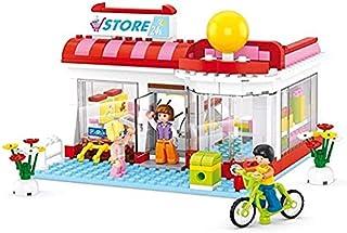 GLLP プリンセス・ビルディング・ブロックの王子スーパーマーケットパズルパズルの組み立てビルディングブロックのおもちゃ少年少女のスーパーマーケット289個 (Color : Supermarket)