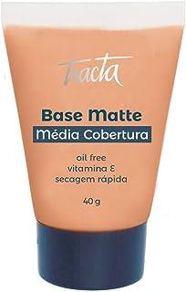 Base Matte Média Cobertura Número 04, Tracta, Pele, 40ml