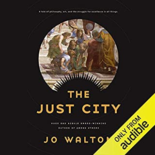 The Just City audiobook cover art