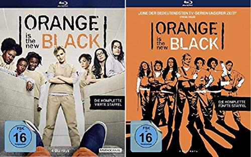 Orange is the New Black - Staffeln 4+5 [Blu-ray]