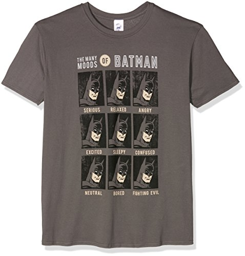 Cid DC Originals - Moods of Batman T-Shirt Homme Multicolore FR : S (Taille Fabricant : S)