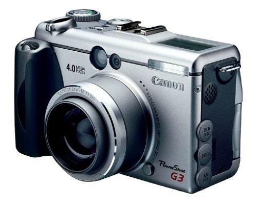 Canon Powershot G3 Digitalkamera (4,0 Megapixel)