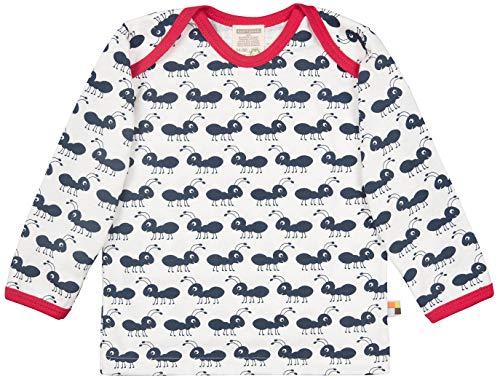 loud + proud Baby-Unisex Langarm aus Bio Baumwolle, GOTS Zertifiziert T-Shirt, Blau (Navy Ny), (Herstellergröße: 74/80)