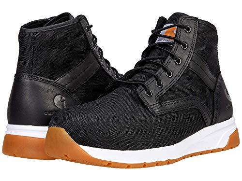 Carhartt Men's Force 5' Lightweight Sneaker Boot Nano Comp Toe Ankle, Black Textile, 11