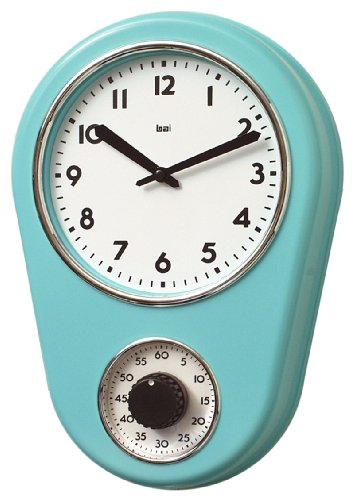 Bai 280 TU Retro Kitchen Timer Wall Clock