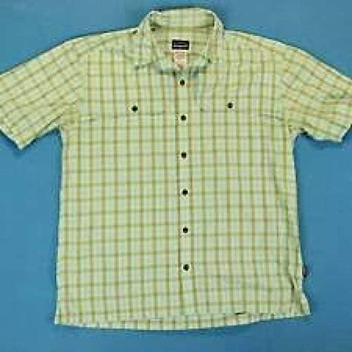 Patagonia Herren M's Back Step Shirt, Blau (Steinblau), S