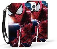 Iphone ケース 12シリーズ スパイダーマン マーベル 手帳型 Iphone 12/Iphone 12 Pro/Iphone 12 Mini/Iphone 12 Pro Max 対応 新型 薄型 耐衝撃 カバー 保護力 人気 おしゃれ シンプル 可愛い 横置き機能 全方位の保護性 保護ケース