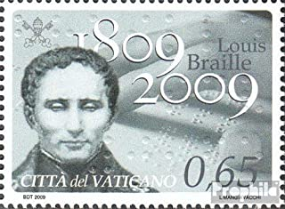 Vatikanstadt 1657 (Complete.Issue.) 2009 Birthday Louis Braille (Stamps for Collectors)