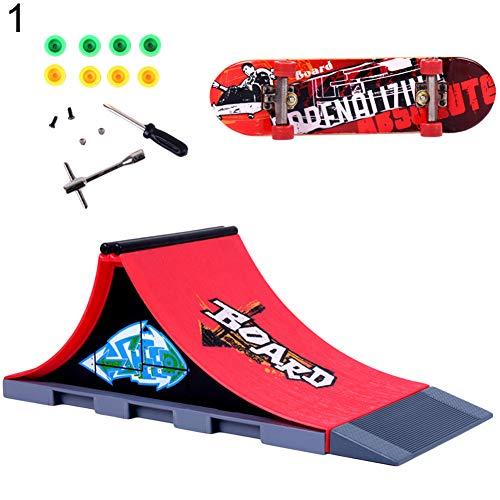 Le Skatepark avec skate de doigt
