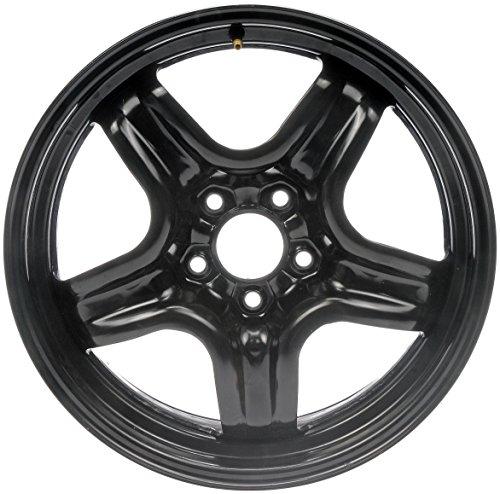 Dorman 939-101 Black Steel Road Wheel 17x7'/5x110mm with 40mm Offset