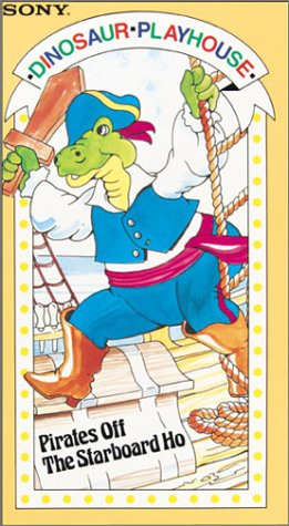 Dinosaur Playhouse: Pirate of [VHS]