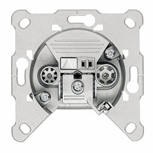 Triax FS 01 2-Fach BK-Einzeldose (TV 5-68MHz/118-1000MHz, RF 87,5-108MHz)