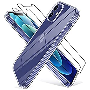 Wiselead Kompatibel mit iPhone 12/iPhone 12 Mini Hülle - 5.4 Zoll