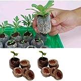 SimpleLife Jiffy Peat Pellets Seed Starting Plugs Palet Seedling Soil Block ORP 5 unidades 35 mm gris