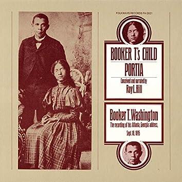 Booker T's Child and Portia, Booker T. Washington Address, 1895