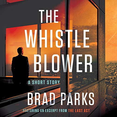 The Whistleblower audiobook cover art