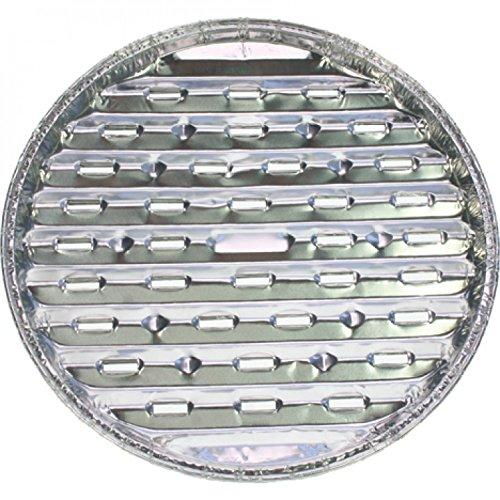 12* Grillschalen Aluminium 2er rund 29cm (12 * 2 Stk.)