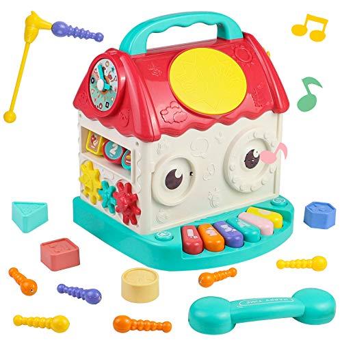 Juguetes Regalos para Niños Música Casa Actividades Juguetes 4 EN 1 Motessori...