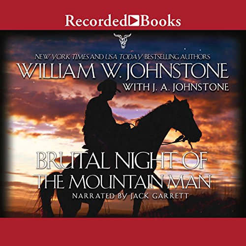 Brutal Night of the Mountain Man audiobook cover art