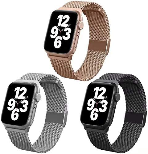Magnetic iWatch Bands Compatible for Apple Watch Band Milanese Loop Magnetic iWatch Bands Compatible product image