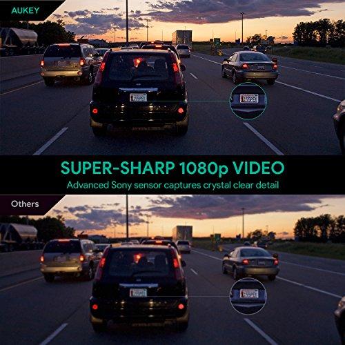 AUKEY Dashcam 1080P Kompakte Autokamera - 7