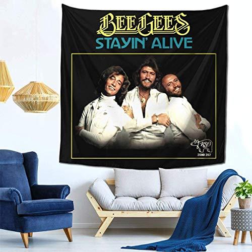 Manta decorativa de la pared de los tapices para el tapiz de la sala de estar y del dormitorio 59 * 59 pulgadas Bee Gees