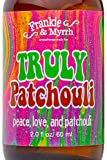 Truly Patchouli | Dark Aged Patchouli Oil Perfume/Cologne | Earthy, Musky Aromatherapy Spray for Relaxing Stimulation and Energy | Room, Linen and Body Mist