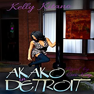 Akako in Detroit audiobook cover art