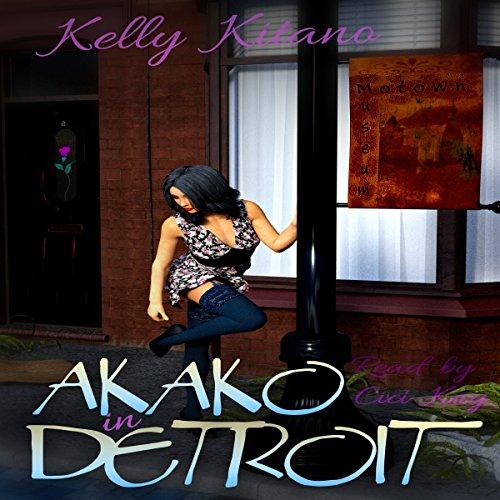 Akako in Detroit audiobook cover art