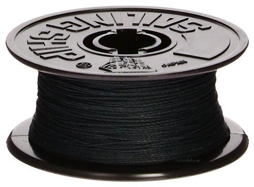 ウッディジョー 帆船パーツ51 綿ロープ 黒1