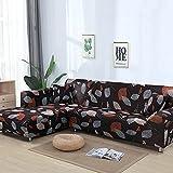 WXQY La Funda de sofá Moderna es Adecuada para la Funda de sofá Modular en Forma de L, Funda de sofá elástica elástica para Sala de Estar A19 de 1 Plaza