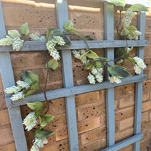 Trendy Bendy Garlands Artificial Hops Garland 180cm Long with Realistic Ripening Hops